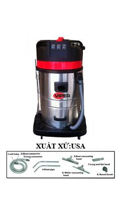 Máy hút bụi Nước hút thảm công nghiệp Viper Mỹ Model LSU 275-EU